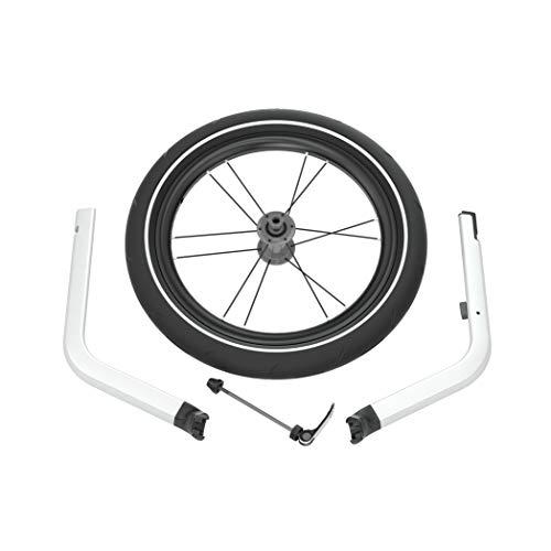 Thule 0872299043002 Chariot Jogging Kit 1 für 1-sitzige Kinderanhänger, Silber