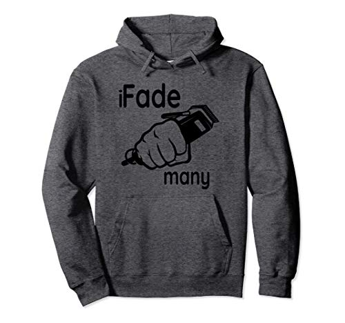 Fade Hair Clippers Barber School Graduation Gift Hoodie