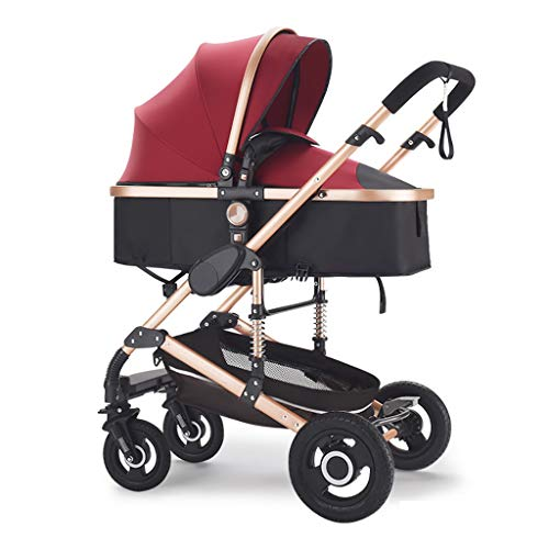 Fantastic Deal! YRSTC Baby Stroller,Pram Carriage Stroller,Collapsible All Terrain Pushchair Strol...
