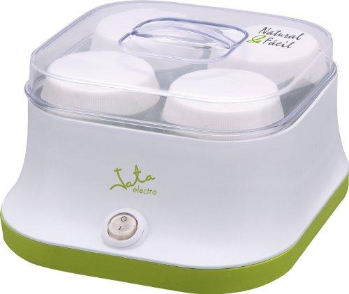 Jata YG523 Yogurtera, 11 W, 600 litros, Acero Inoxidable, plástico