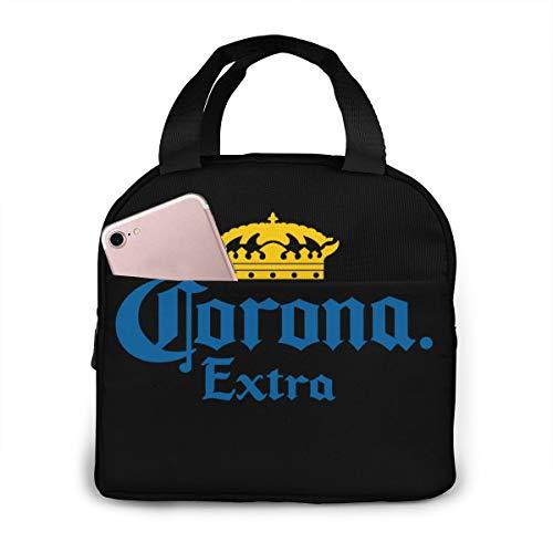Rug-tot-rug Wereldoorlog Unisex Draagbare Herbruikbare Waterdichte Thermische Isolatie Lunch Bag Picknick Bag Winkeltas Koelbox Eén maat Corona Extra Beer Bucket