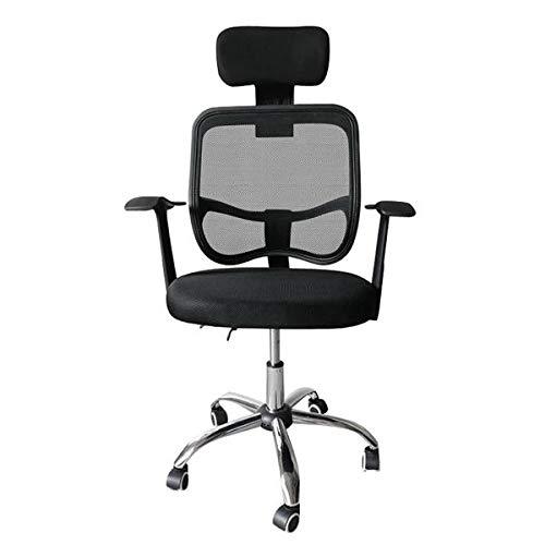 OUTAD Bürostuhl Ergonomischer Bürostuhl mit 3D Armlehnen, 3D Lordosenstütze Drehstuhl Computerstuhl Chefsessel, 360°Drehen,Einstellbare Kopfstütze für Soho- oder Büroarbeit