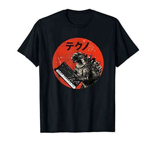 Vinage Japan Synthesizer Monster Analog Synth Retro T-Shirt