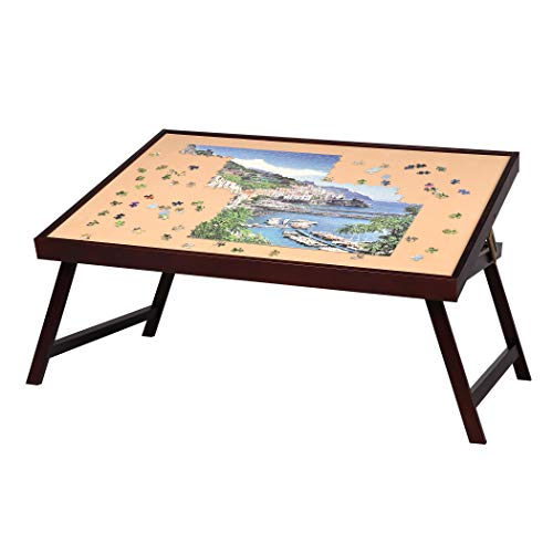 LAVIEVERT Rompecabezas de madera para rompecabezas de hasta 1500 piezas