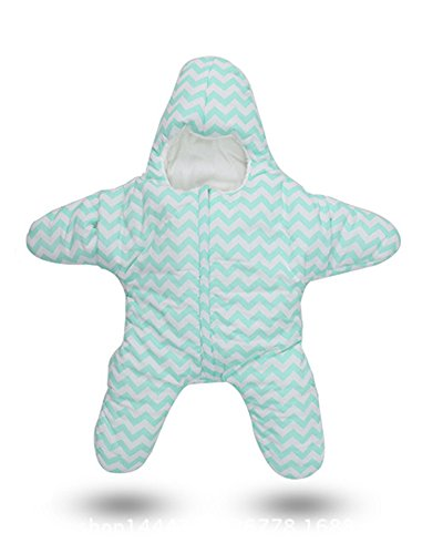 Star Sac pour sac de couchage bébé Nid pour 0-2 ans (0-5M, vert)