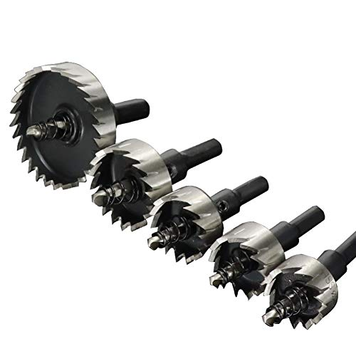 NIANZAI Hongfubang HSS Carbide Drill Bit Core Drill Bit for Alloy Metal Drilling Hole Stainless Steel (Size: 18mm)