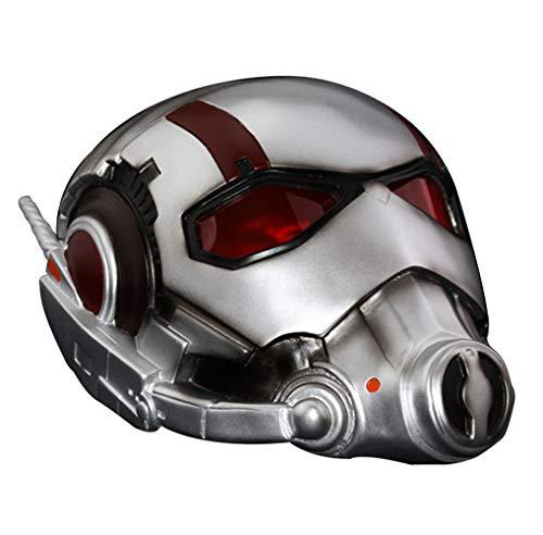 Gmasking Men Halloween Adult Cosplay Helmet 1:1 Prop Replica White