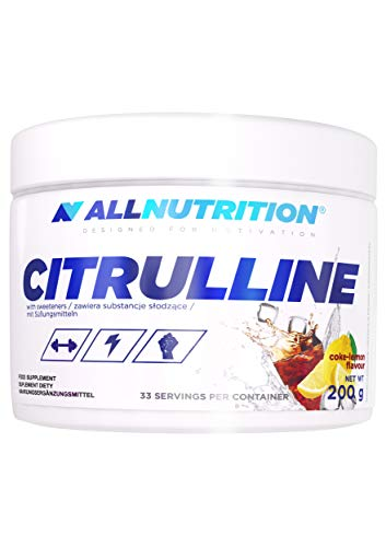 AllNutrition Citrulline Malate 200g Dose mit Geschmack Aminosäuren L-Citrulline (Cola-Lemon)
