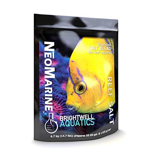 Brightwell Aquatics NeoMarine - Marine Salt Blend for Reef Aquarium, 50-GAL