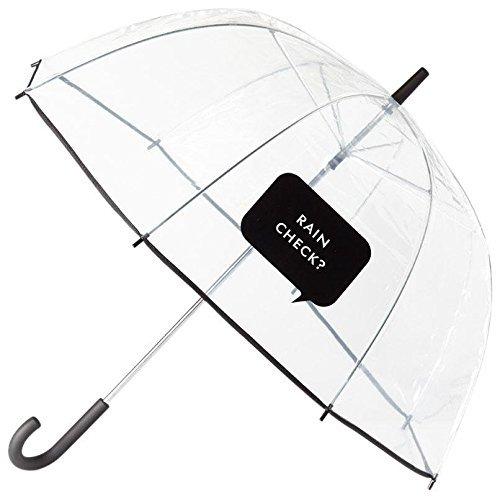 Kate Spade New York Large Dome Umbrella, Rain Check