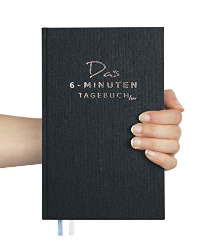 Das 6-Minuten-Tagebuch PUR (die Nachfolgeversion) | Erfolgs-Journal, Dankbarkeits-Journal | Mix aus Notizbuch und Tagebuch | Täglich 6 Minuten für mehr Erfolg, Gelassenheit und Achtsamkeit (Anthrazit)