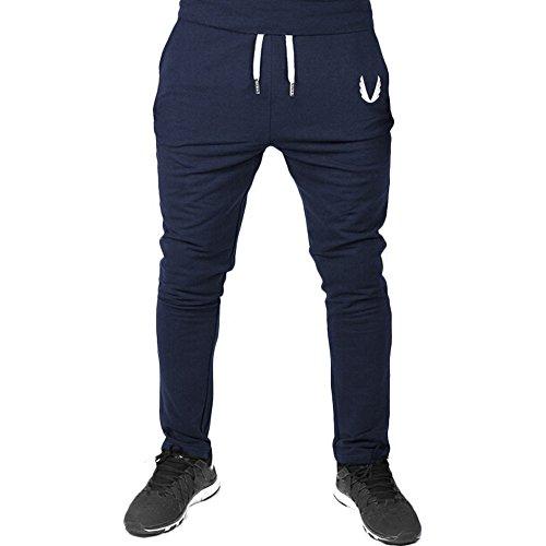 Cómodo Cintura Elástica Casual Pantalones Largos Cargo para Hombre Jogging Casual Pantalón Aptitud del Deporte de los Hombre Pantalones Deportivos para Hombre mmujery