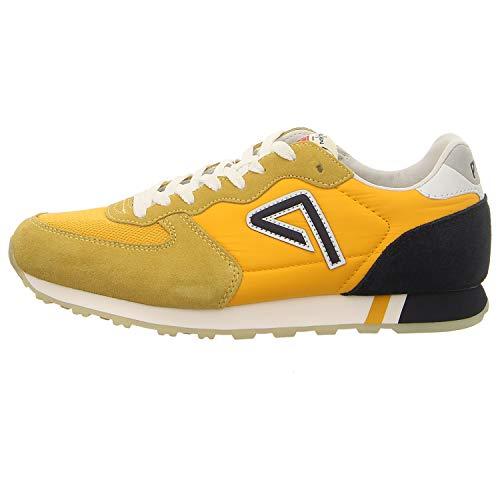 Pepe Jeans London Herren KLEIN Archive Summer M Sneaker, Gelb (Ochre Yellow 97), 43 EU