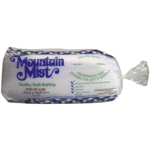 Mountain Mist Polyester Quilt Batting, Crib...