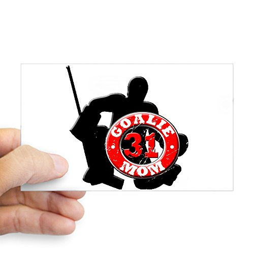 WickedGoodz Proud Hockey Mom Vinyl Decal Transfer Perfect Ice Hockey Mom Gift Sports Bumper Sticker