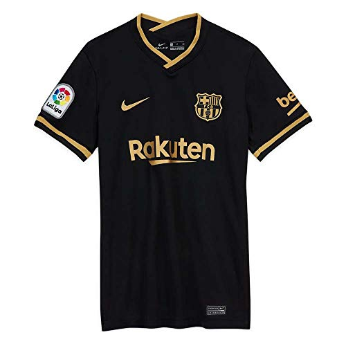 Nike 2020-2021 Barcelona Away Ladies Football Soccer T-Shirt Jersey