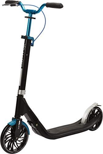 Firefly Unisex Jugend A 230 Kickscooter, Black/Grey/Blue, One Size