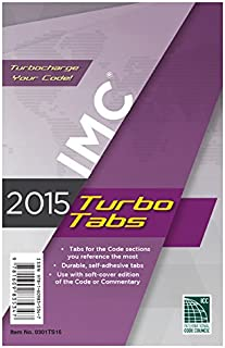 2015 International Mechanical Code Turbo Tabs for Soft Cover