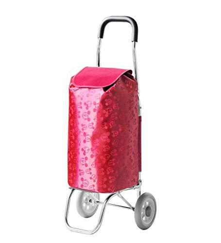 Opvouwbare steekwagen, ultralicht, van aluminiumlegering, oud, voor het winkelen van levensmiddelen, kleine kinderwagen