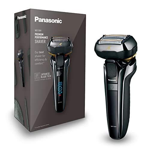 Panasonic ES-LV6Q-S803 Máquina de afeitar de láminas Negro, Acero inoxidable - Afeitadora (Máquina de afeitar de láminas, Negro, Acero inoxidable, Batería, Ión de litio, Integrado, 50 min)