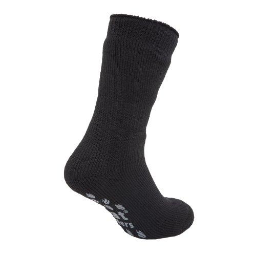 HEAT HOLDERS - Chaussettes chaussons thermiques (2.3 tog) - Homme (EUR 39-45) (Noir/Gris)