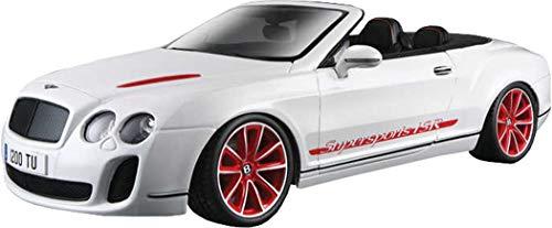 Bburago - 11035BK - Véhicule Miniature - Bentley Continental Supersports - 2010 - Echelle 1:18 - Coloris aléatoire