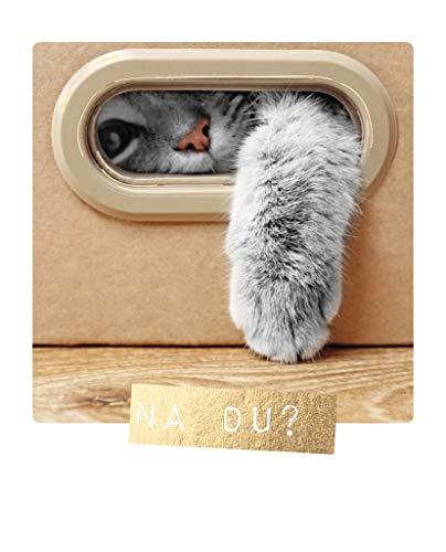 Cityproducts - 4551 - Happy Memories, Postkarte, Liebe, Katze, Na du? 10,5cm x 13cm