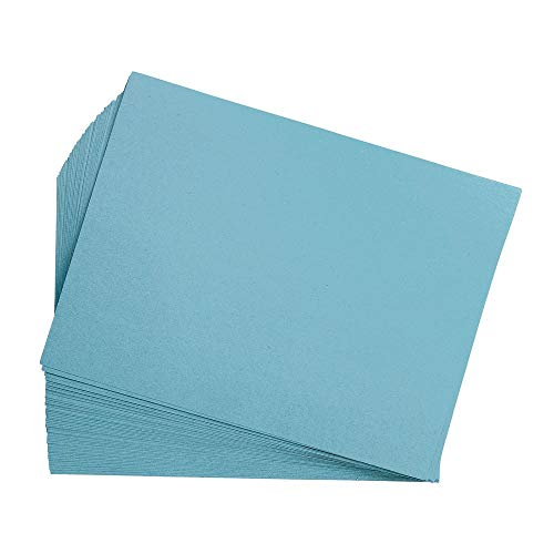 Construction Paper, Sky Blue, 12 inches x 18 inches, 200 Sheets, Heavyweight Construction Paper, Crafts, Art, Kids Art, Painting, Coloring, Drawing, Creating, Paper, Art Project, All Purpose