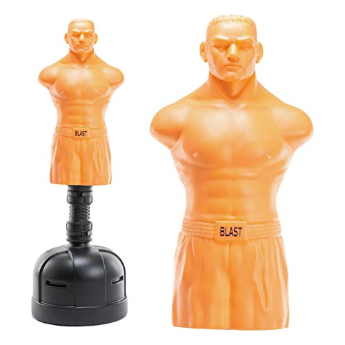 BLAST® XL Freestanding Punching Dummy Opponent BOB With Stand, Indoor & Outdoor Boxing Dummy, Kick Boxing Martial Arts Realistic Partner Training