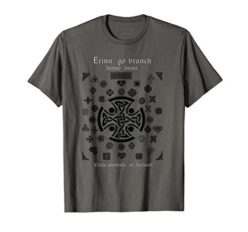 Ireland Forever, Celtic symbols of Ireland T-Shirt