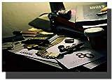 Kendrick Lamar Section 80 Hip Hop Album Cover Art Posters Print on Canvas Artwork Imágenes de la habitación para la sala de estar Decoración del dormitorio Decoración del hogar -60x90cm Sin marco