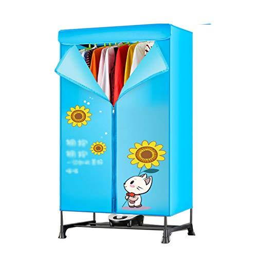 NHLXY Elektrische droogrek binnen 2 lagen snel aan de lucht drogen warme kledingkast machine wasrek voor thuis en slaapzalen tot 15 kg wasmachine, 900 W