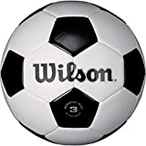 Wilson Traditional Soccer Ball - White/Black, Size 3