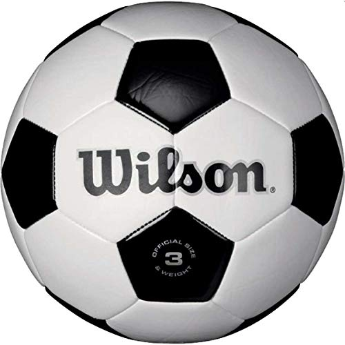 Price comparison product image Wilson Traditional Soccer Ball - White / Black