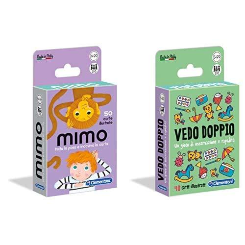 Sapientino Mimo, Multicolore, 16174 & Vedo Doppio, Multicolore, 16177