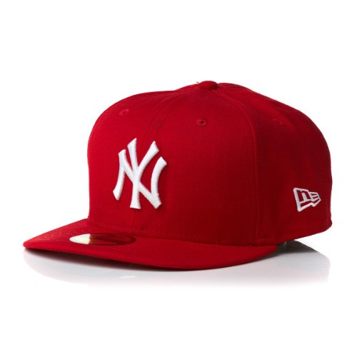 New Era - Casquette Snapback Homme New York Yankees 9Fifty Cotton Block - Red/Blue