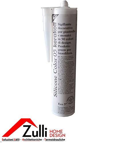 Kerakoll Fugabella Eco - Silicona, 310ml, color gris brillante n.º 2