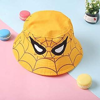 YJTT Chapeau Nouveau Style de Bande dessinée Chapeau Enfants Spiderman, Chapeau de pêcheur, Chapeau de Seau, Capeline for ...