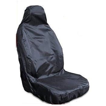 Heavy Duty Black Waterproof Single Seat Cover FORD TRANSIT VAN CONNECT 02+