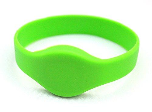 Waizmann.IDeaS® RFID Transponder Smart Armband Wristband KeyFob Silikon Wasserdicht Frequenz 125KHz EM4100