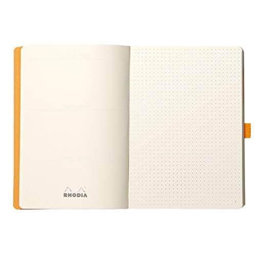 Rhodia Goalbook Journal, A5, Dotted - Black Photo #6