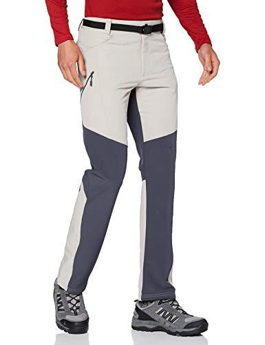 IZAS LACIO Pantalon de Trekking Homme, Argent/Gris fumée, FR : M (Taille Fabricant : M)