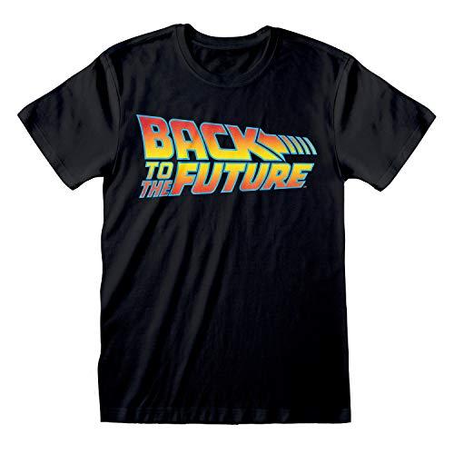 Logo Back to The Future (unisexe) - Noir - XX-Large