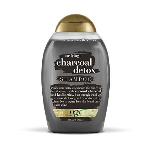 Best detox shampoo - OGX Purifying + Charcoal Detox Shampoo, 13 Ounce