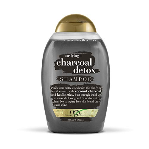 OGX Purifying + Charcoal Detox Shampoo, 13 Ounce