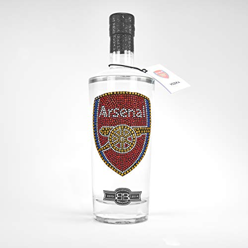 Bohemian Brands Crystal Edition Arsenal FC Premium Vodka, 70 cl
