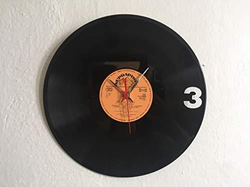 Respiro Klok van oude vinyl platen, 30 cm