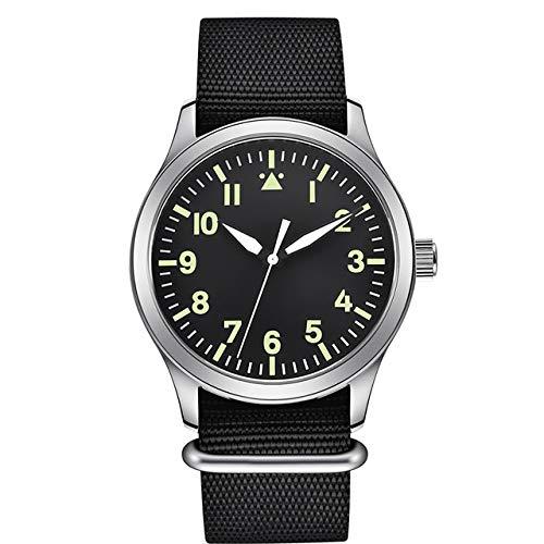 MKOIJN Horloges 42MmMannen Automatische Luxe Merk Sport Ontwerp Klok Leer Zelf Wind Mechanische Horloges Mechanische Horloges