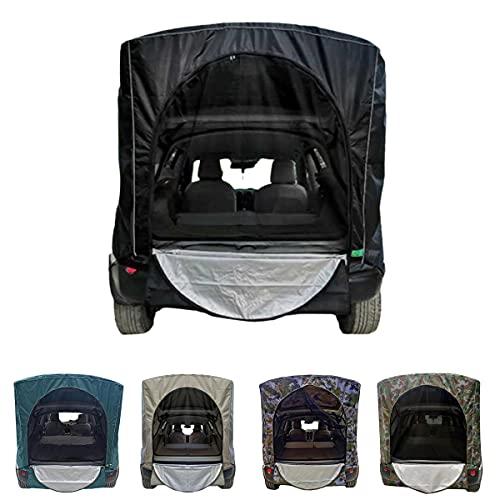 Miugwp Tienda de campaña para maletero de coche, Toldo Para Puerta Trasera Tienda De Viaje Portátil A Prueba De Viento Impermeable Para SUV Toldo Anti-UV Acampar Al Aire Libre
