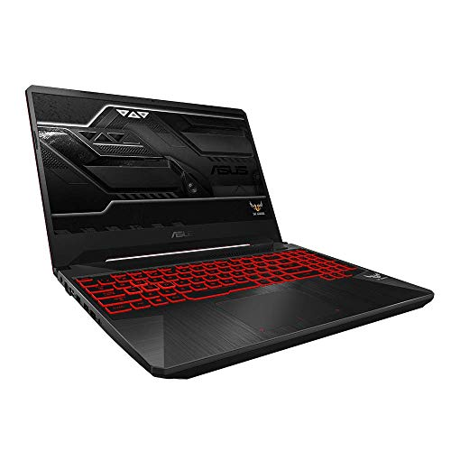 ASUS TUF Gaming FX505DY (90NR01A2-M05730) 39,6 cm (15,6 Zoll, Full HD, matt) Gaming Notebook (AMD R5-3550H, AMD Radeon RX560X (4GB), 8GB RAM, 512GB SSD, Windows 10) Black